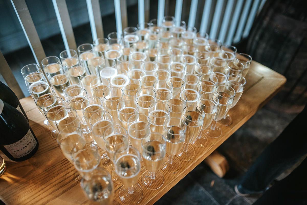 east quay venue wedding champagne