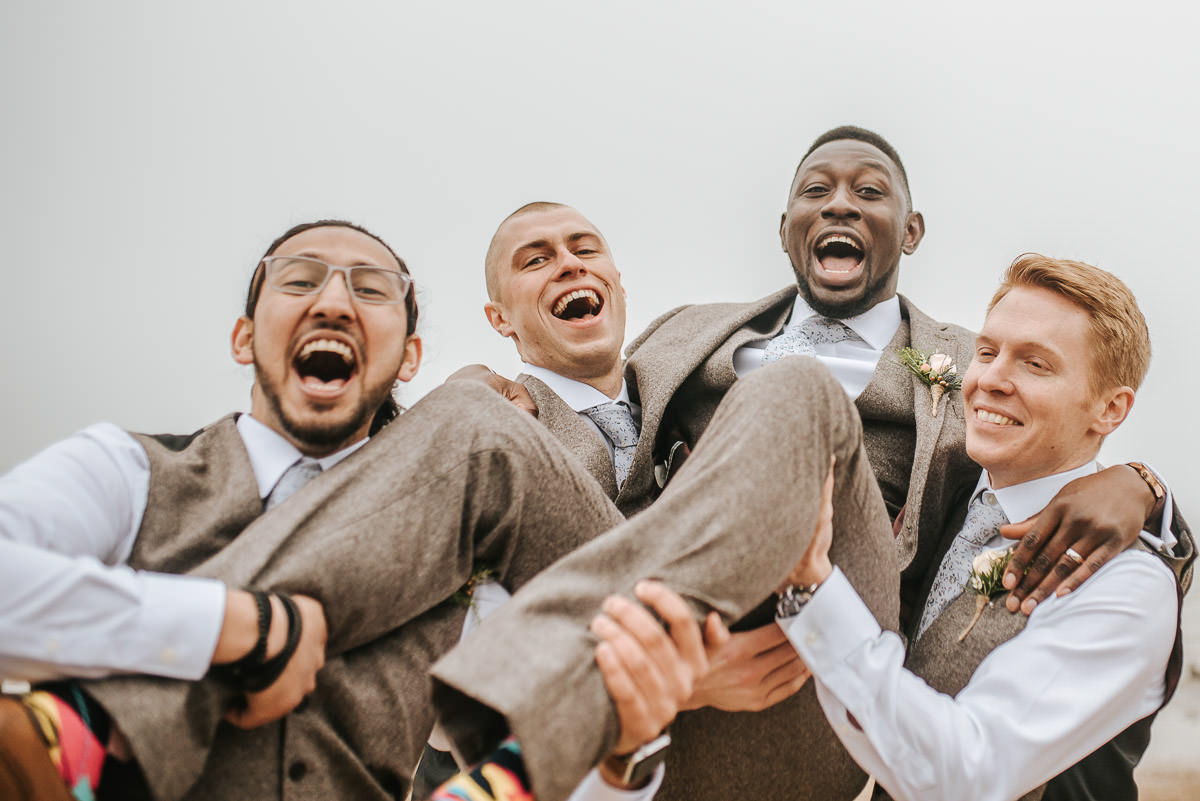 east quay venue wedding groom up