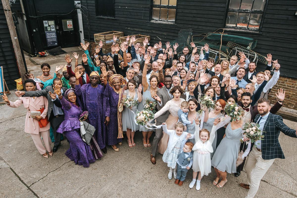 east quay venue wedding all guests