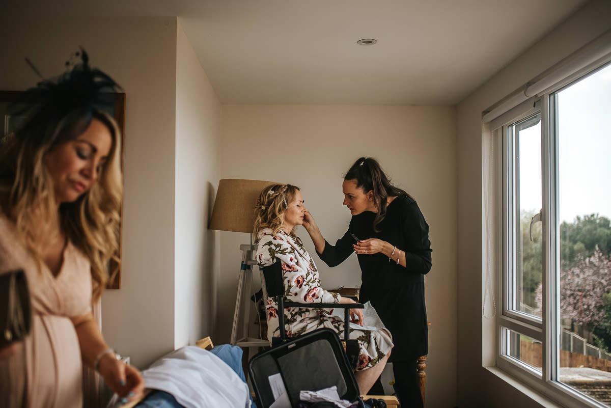 essex wedding photography getting ready