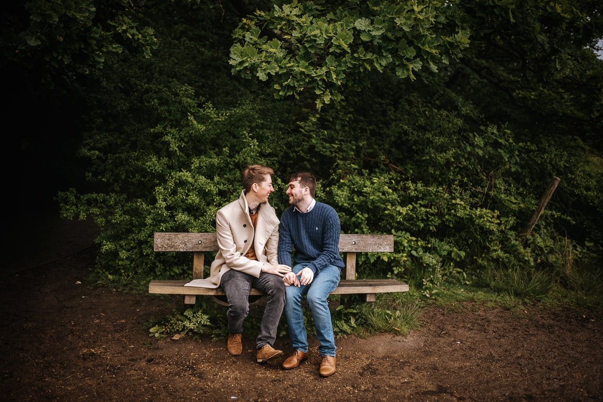 gay wedding photography in epping forrest