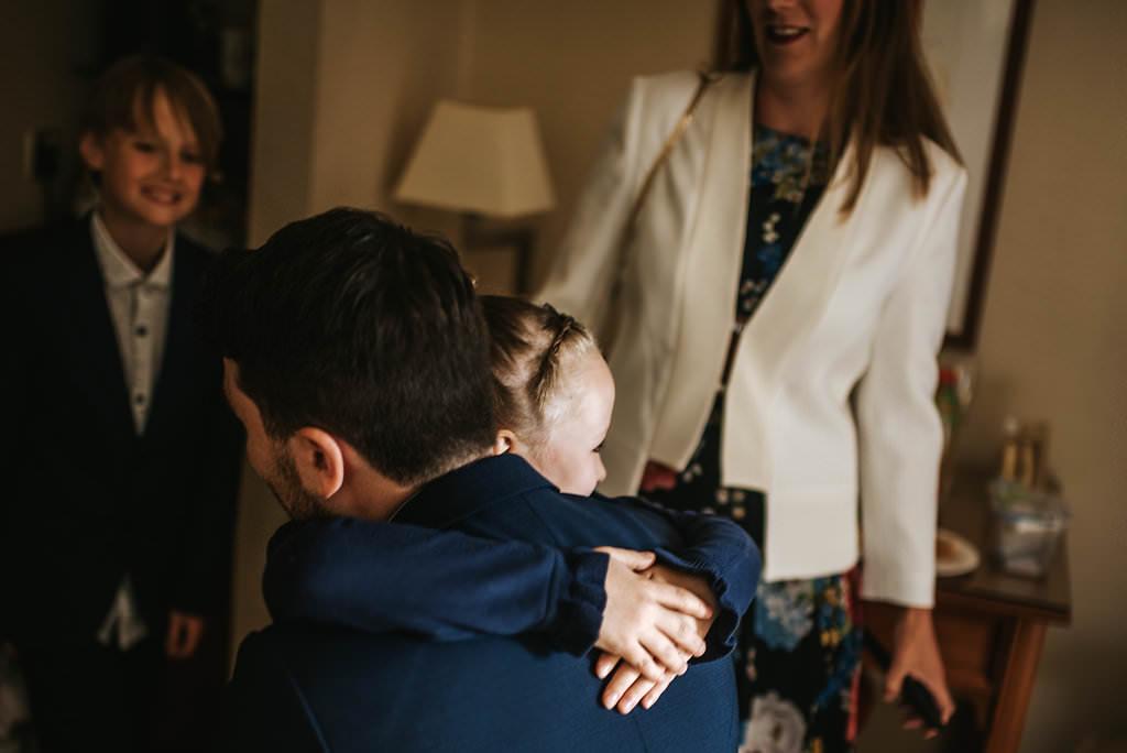 gay wedding photography getting ready