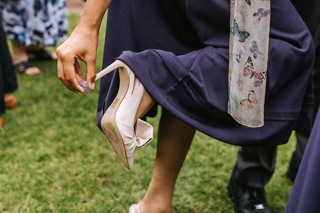 gaynes park wedding shoes