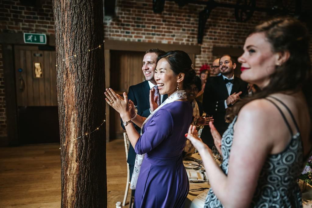 gaynes park wedding reception