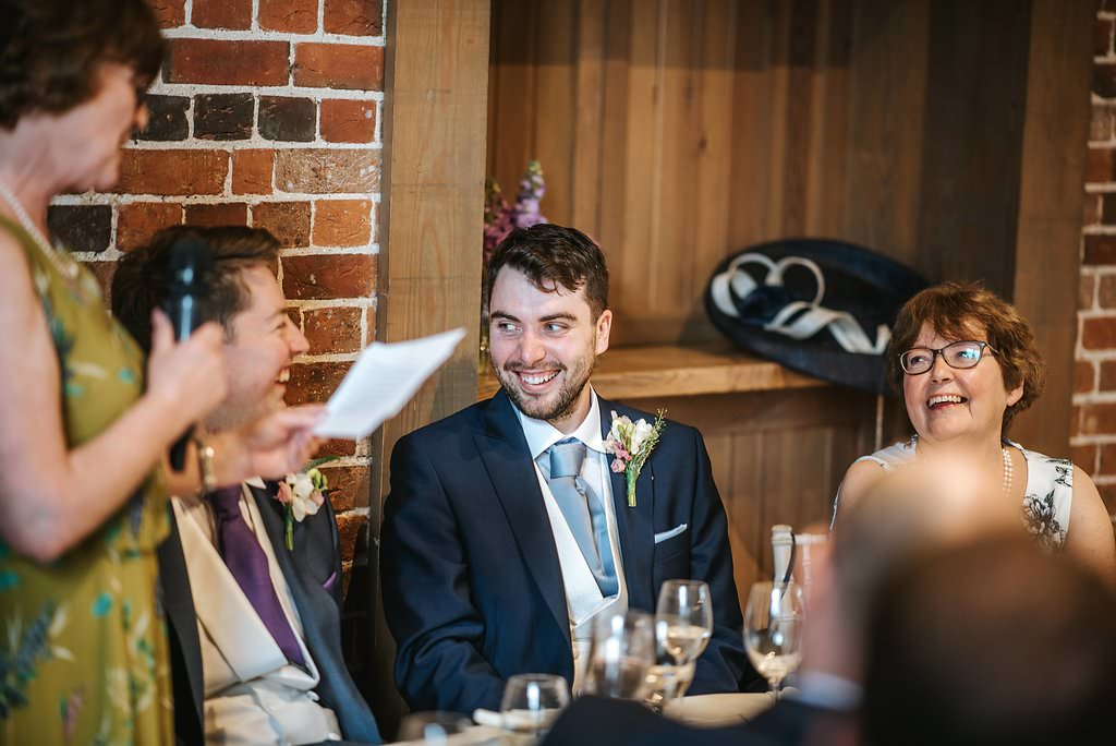 gaynes park wedding reception speeches