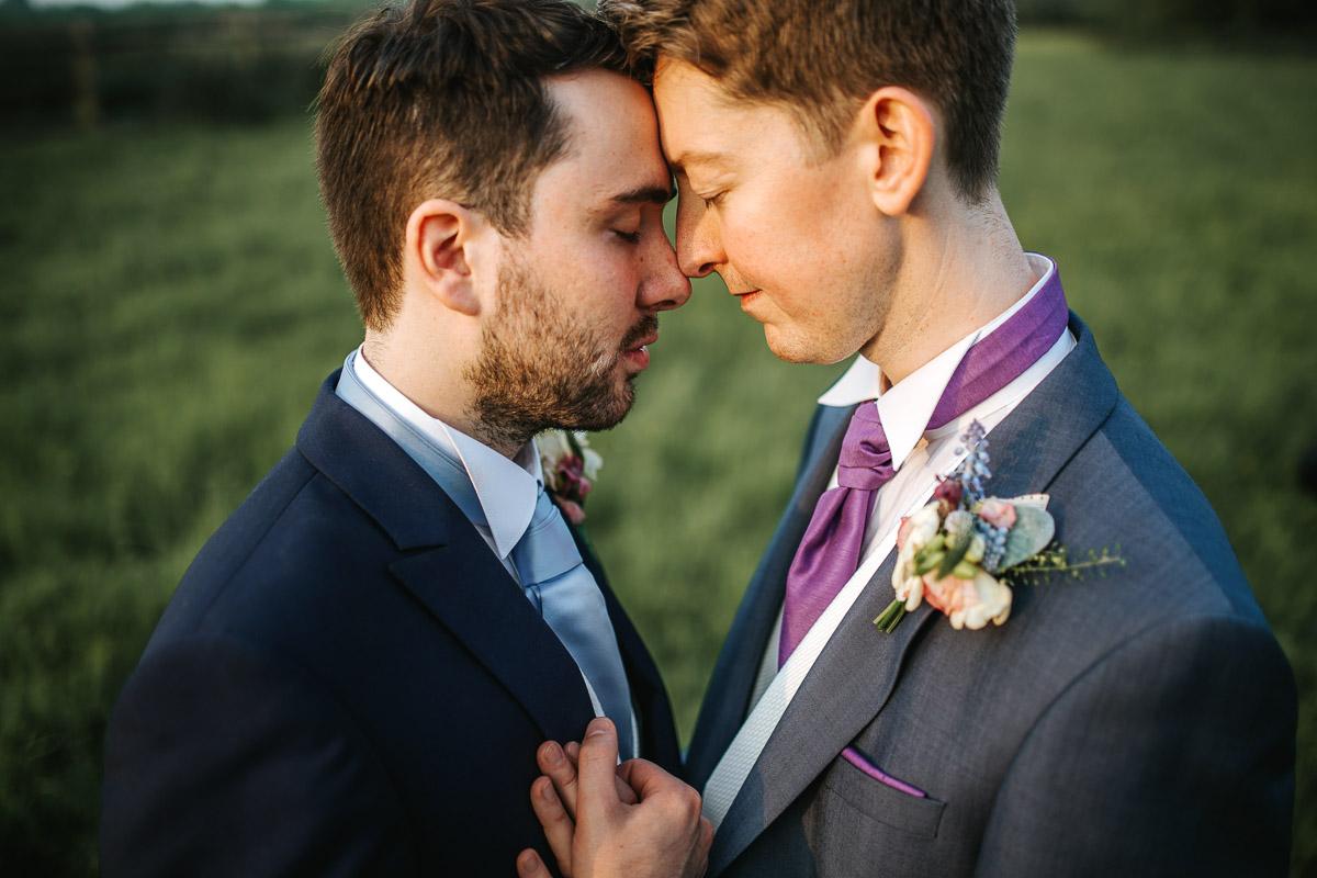 gay wedding london couple shoot