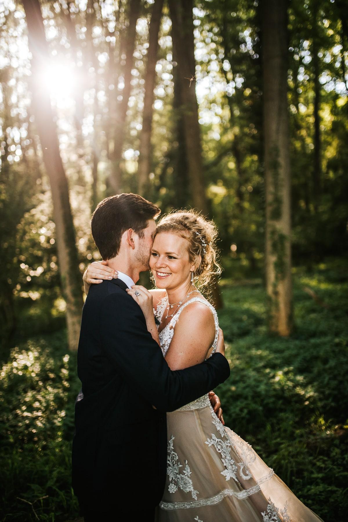 wedding photos reading woodland couple shoot