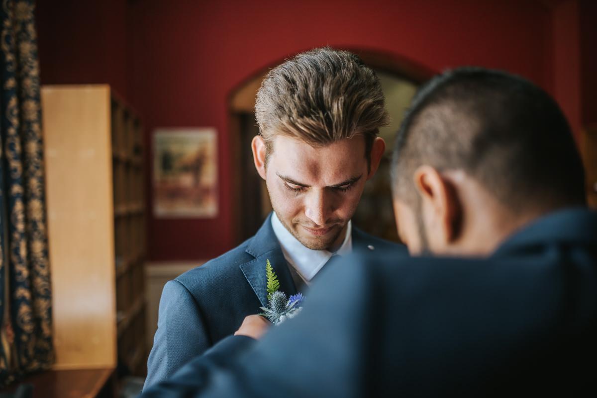 wedding photos reading bredfield college ceremony