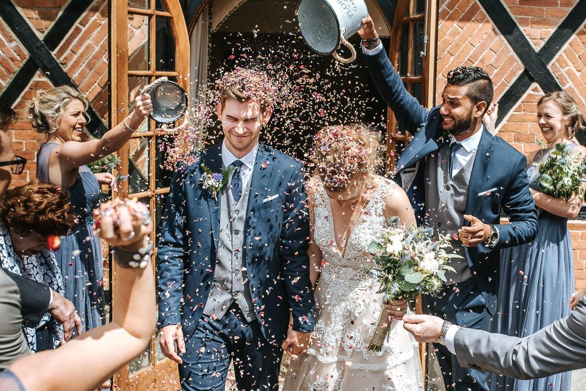 wedding photos reading bradfield college ceremony