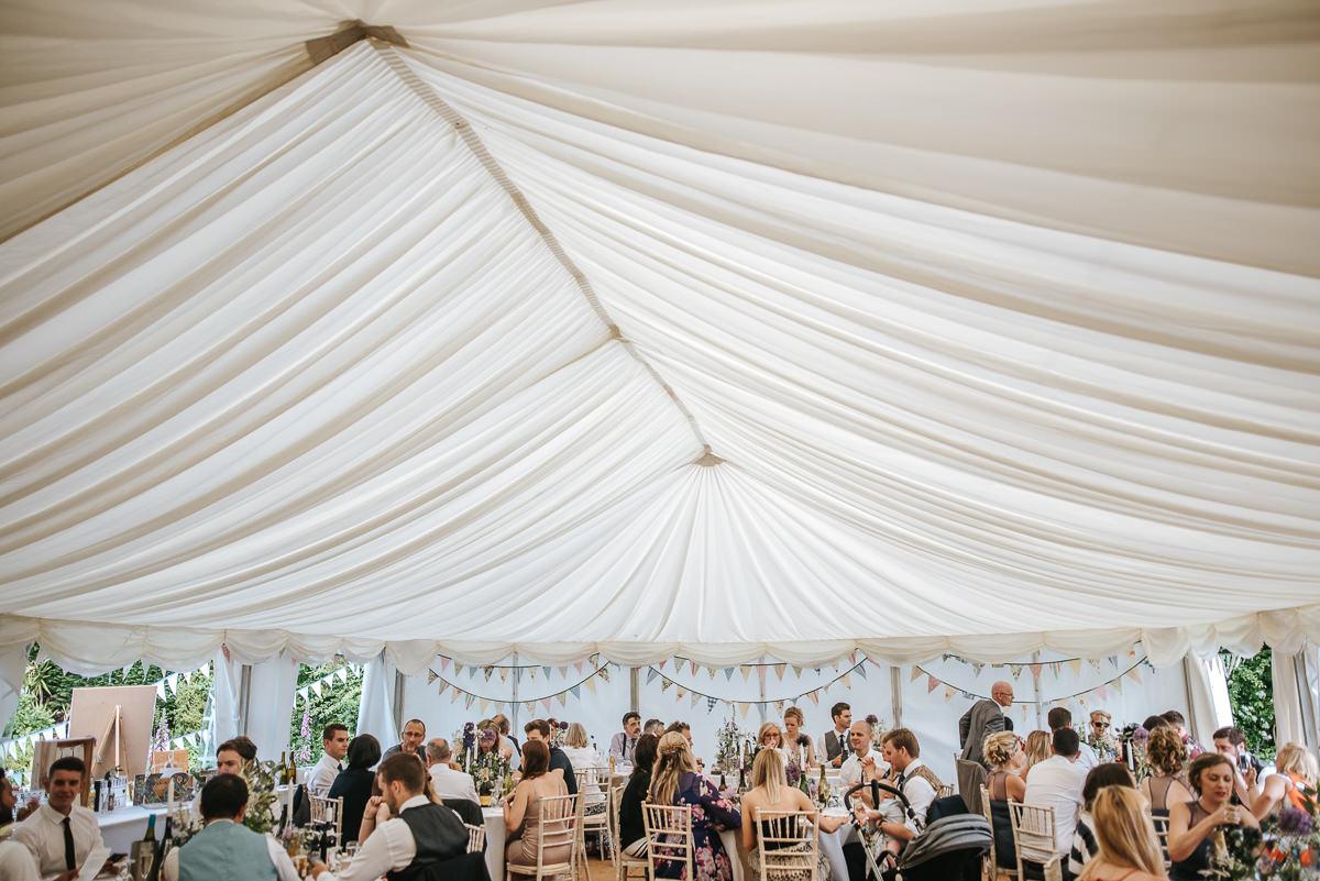 wedding photos reading marquee reception