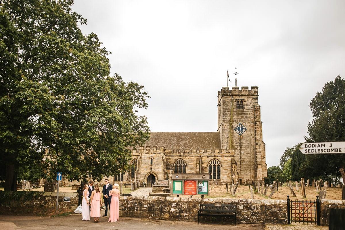 kent wedding photography church