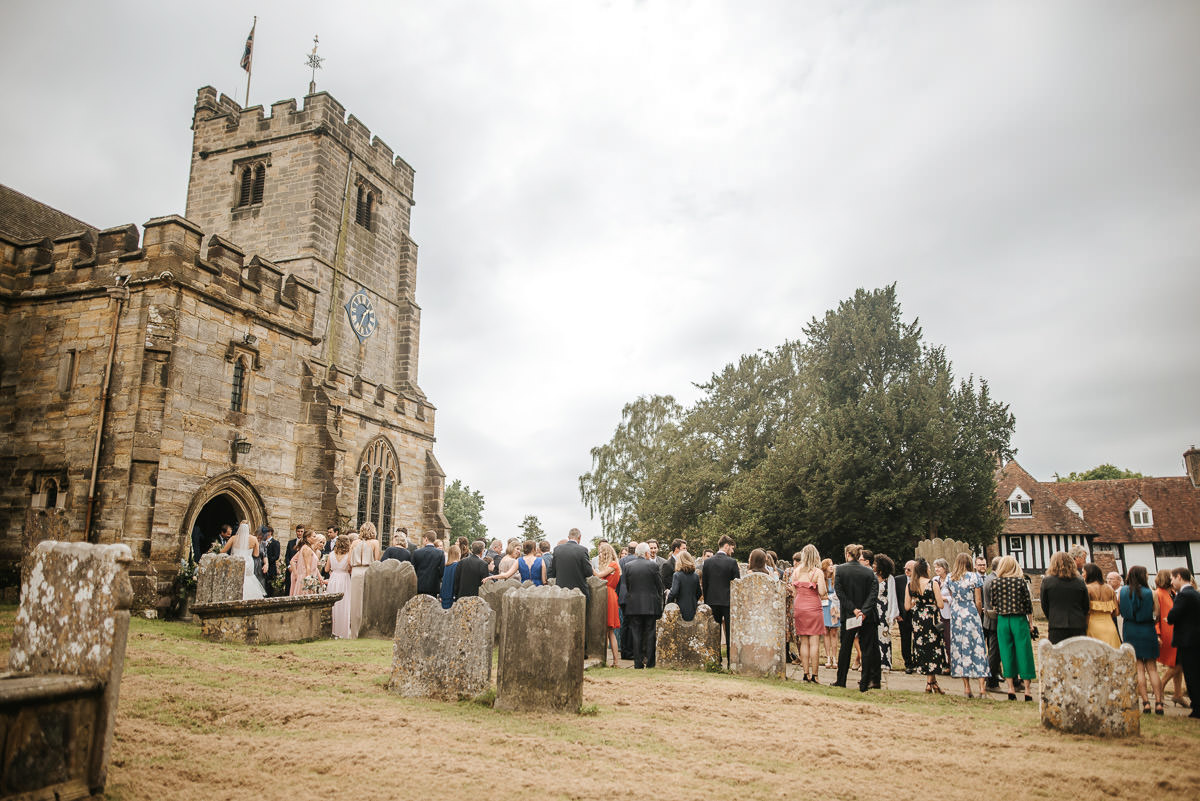 kent wedding photography out the church