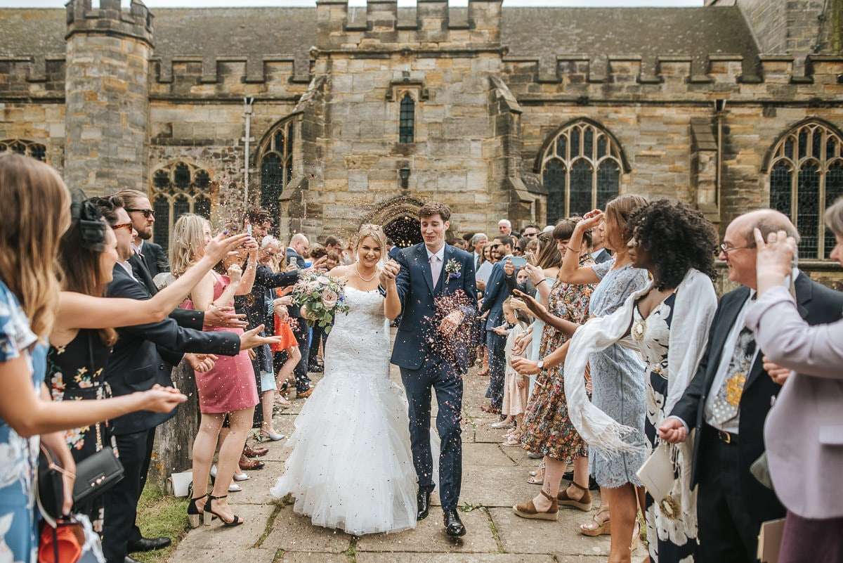 kent wedding photography confettin