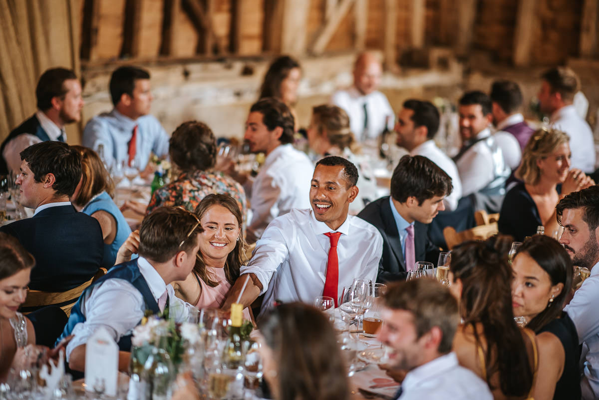 great barn rolvenden wedding guests