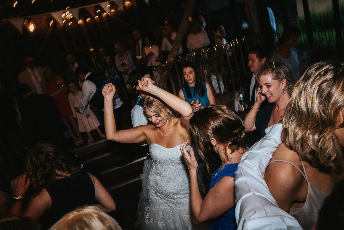 great barn rolvenden wedding party