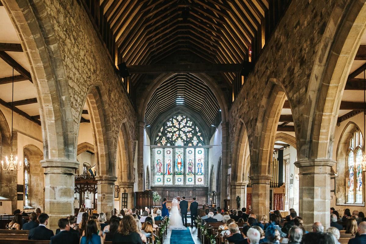 kent wedding photography church interior