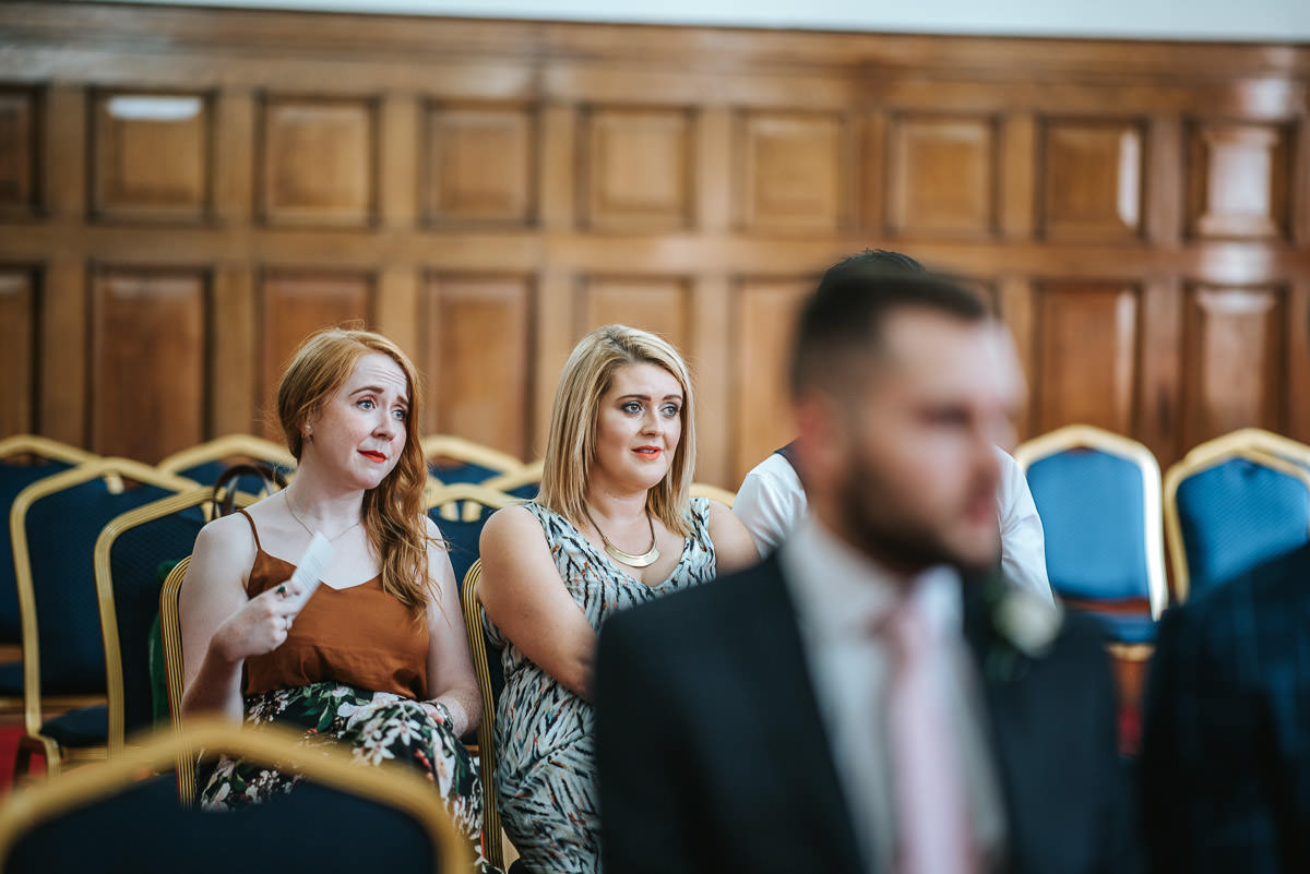 islington town hall wedding ceremony guests