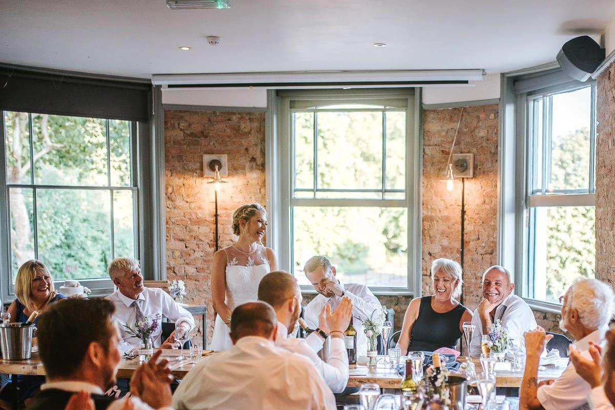 islington town hall wedding brookmill pub reception speeches
