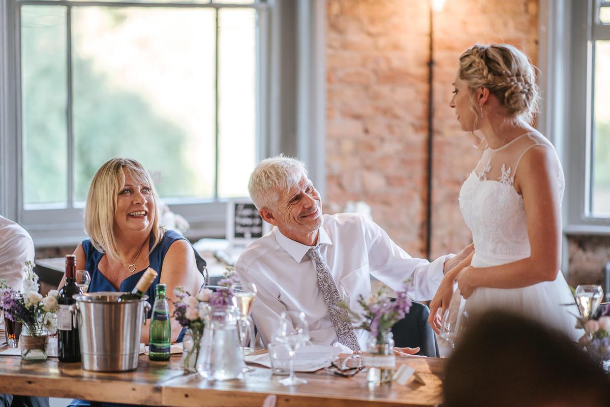 islington town hall wedding brookmill pub reception speeches reactions