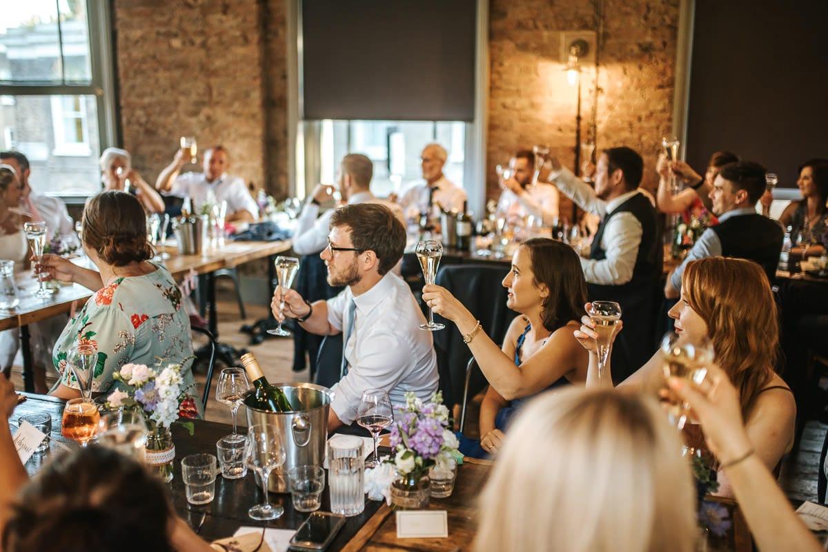 wedding brookmill pub reception speeches reactions