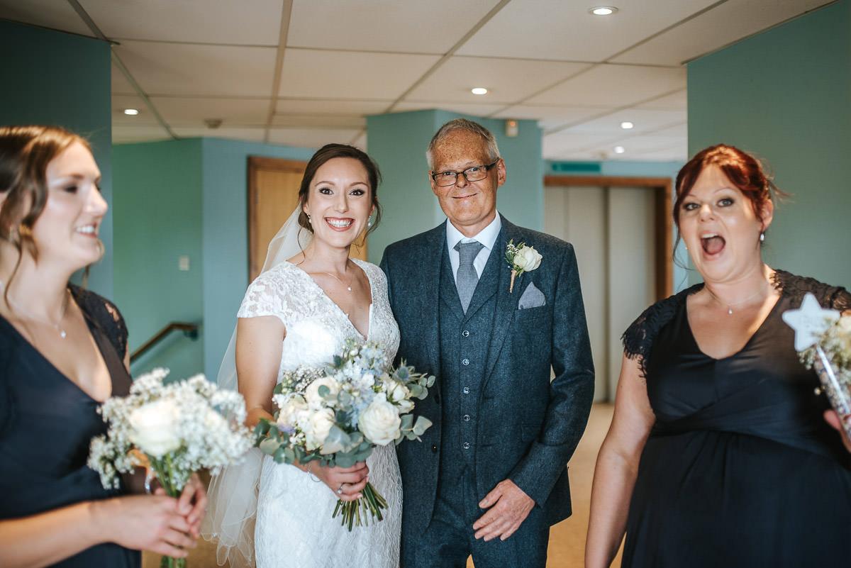 london wetland centre wedding bridal party