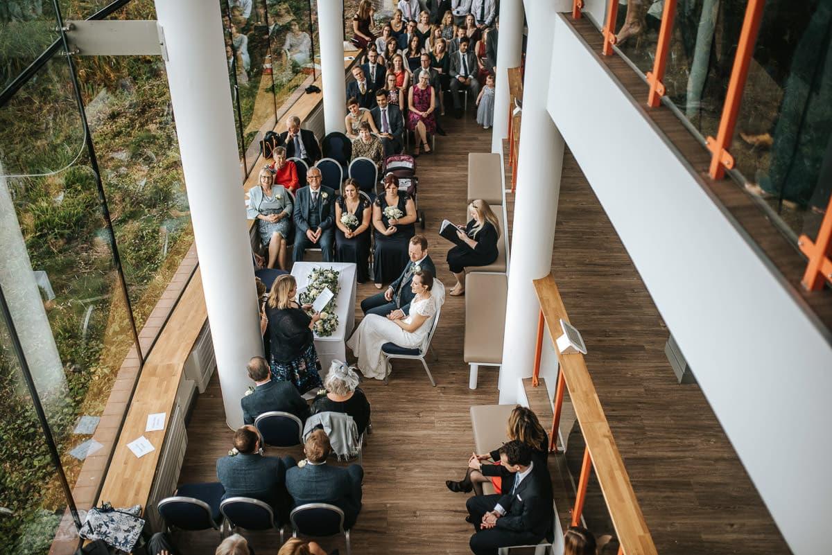 london wetland centre wedding ceremony