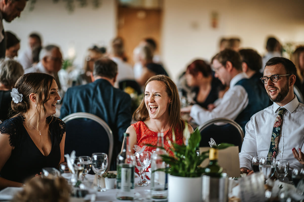 london wetland centre wedding breakfast laugh