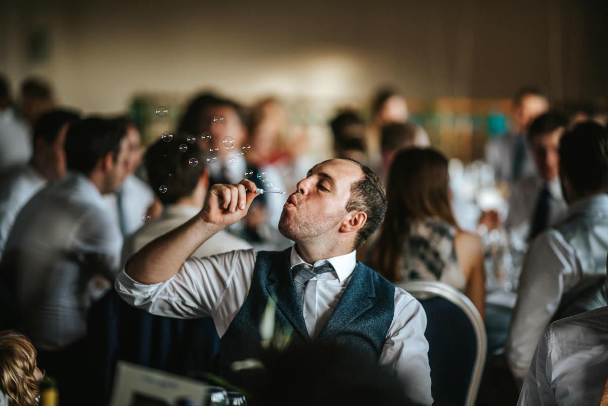 london wetland centre wedding breakfast bubbles