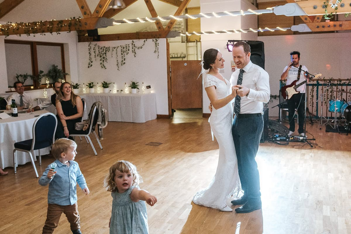 london wetland centre wedding first dance