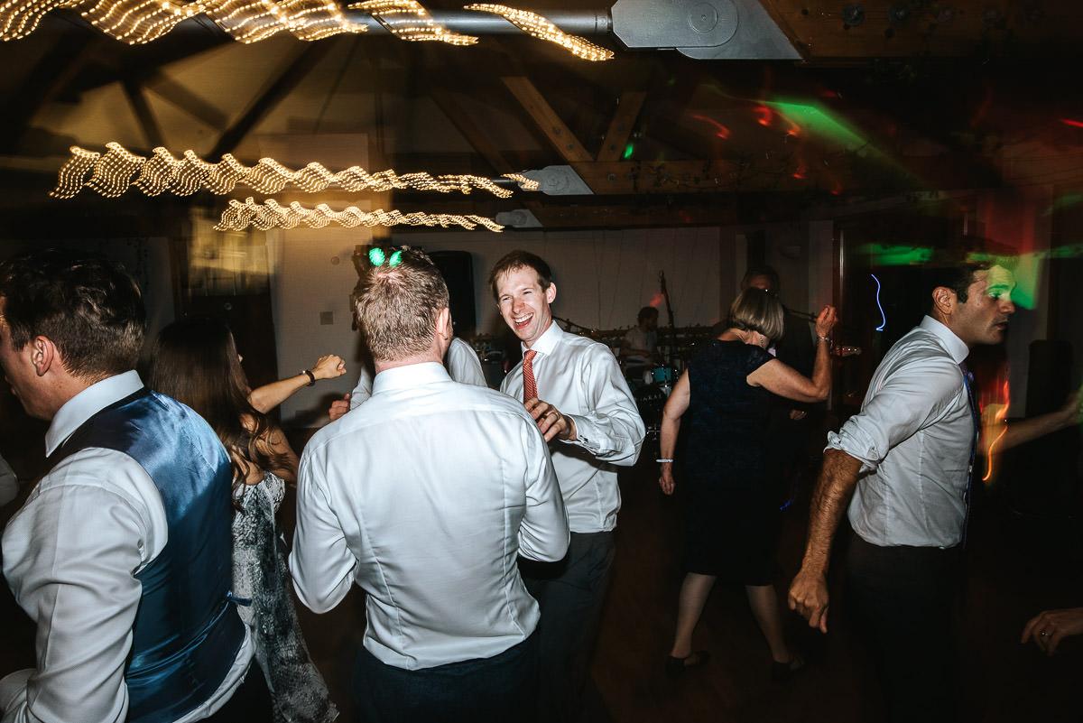 london wetland centre wedding guests dancing