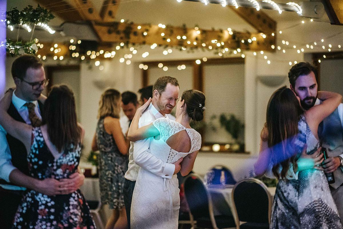 london wetland centre bride and groom dancing