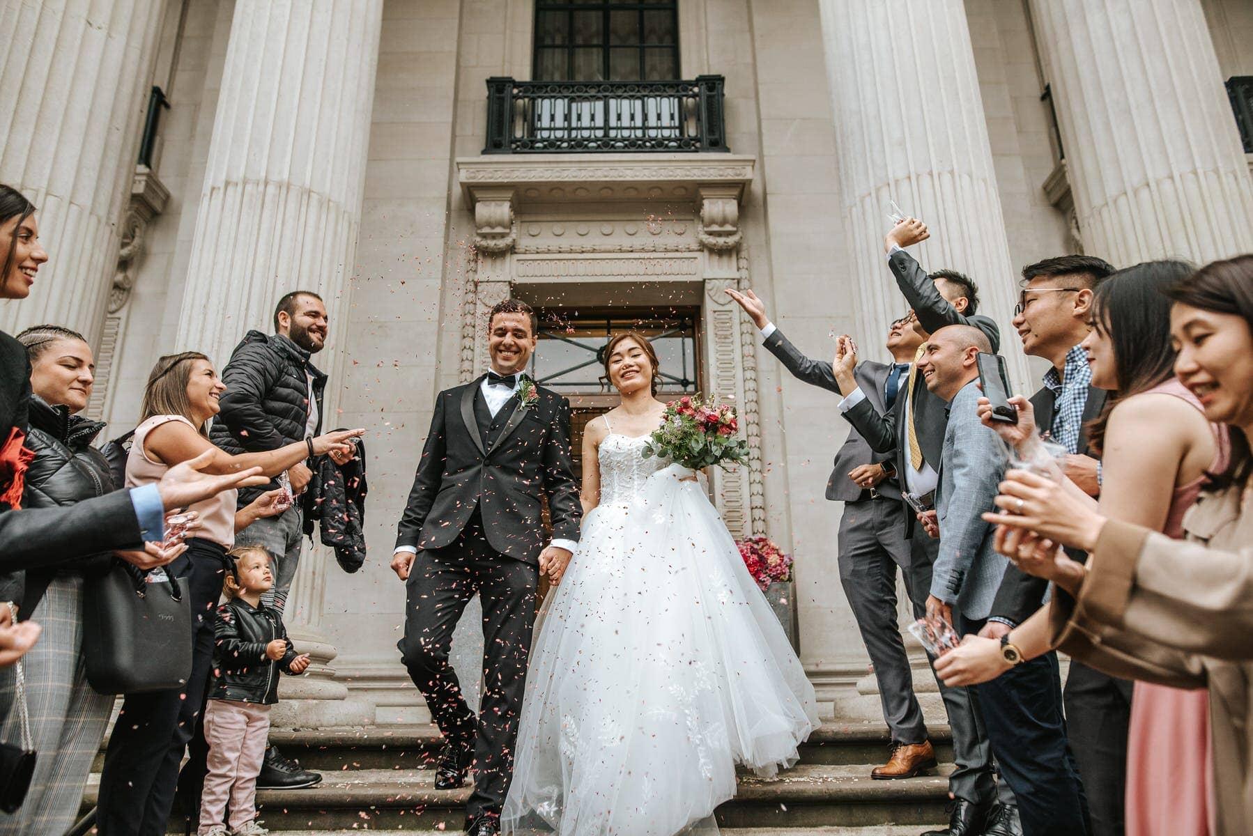 old marylebone town hall wedding photographers