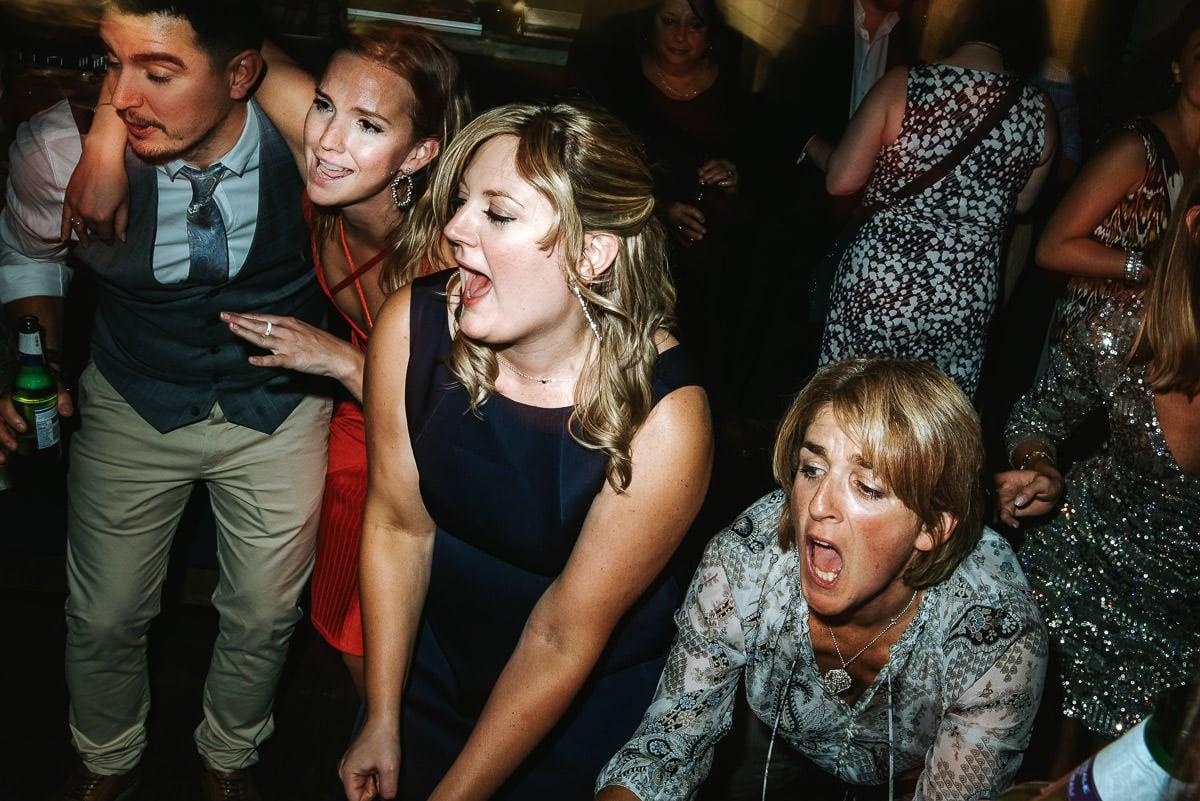 london bridge grind wedding party