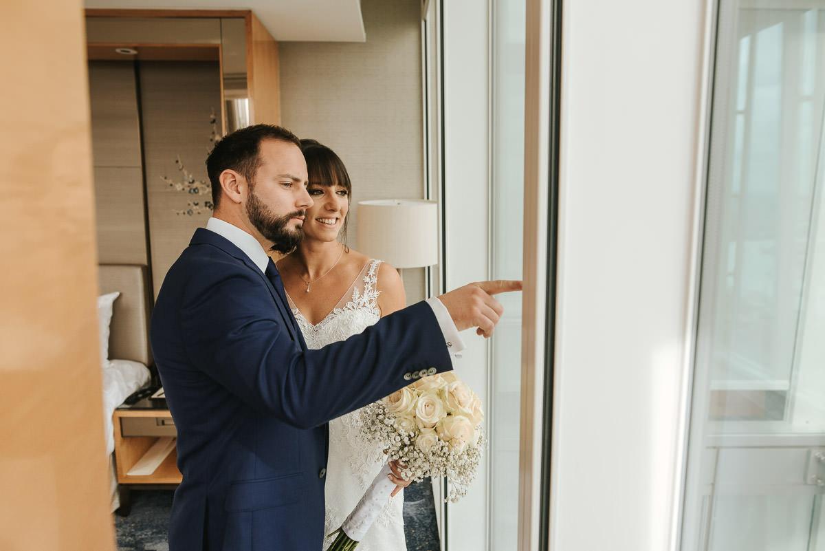 london wedding shrad bride and groom