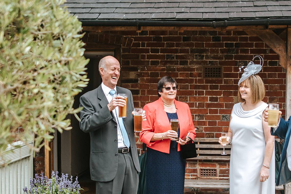 sopley mill wedding guests