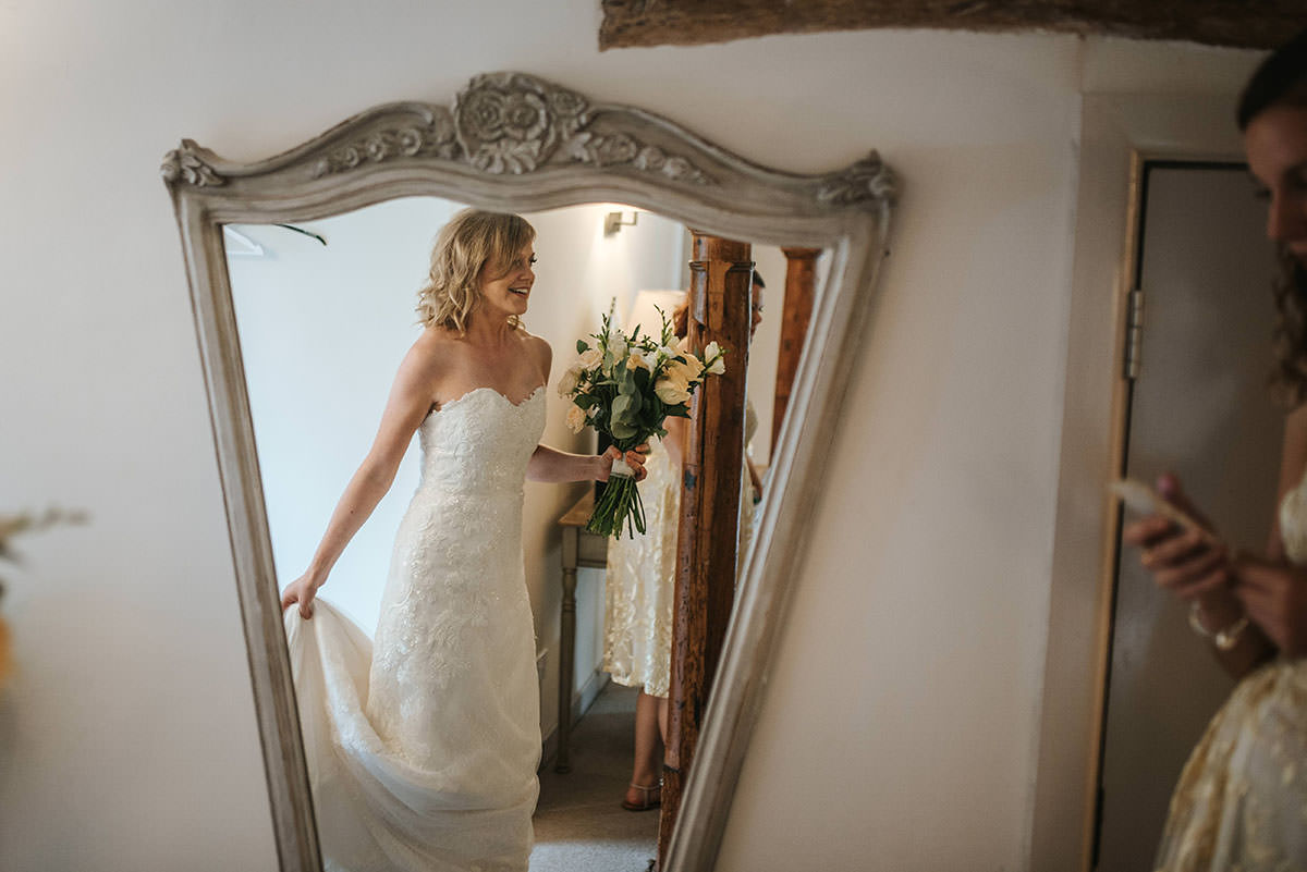 sopley mill wedding bride ready