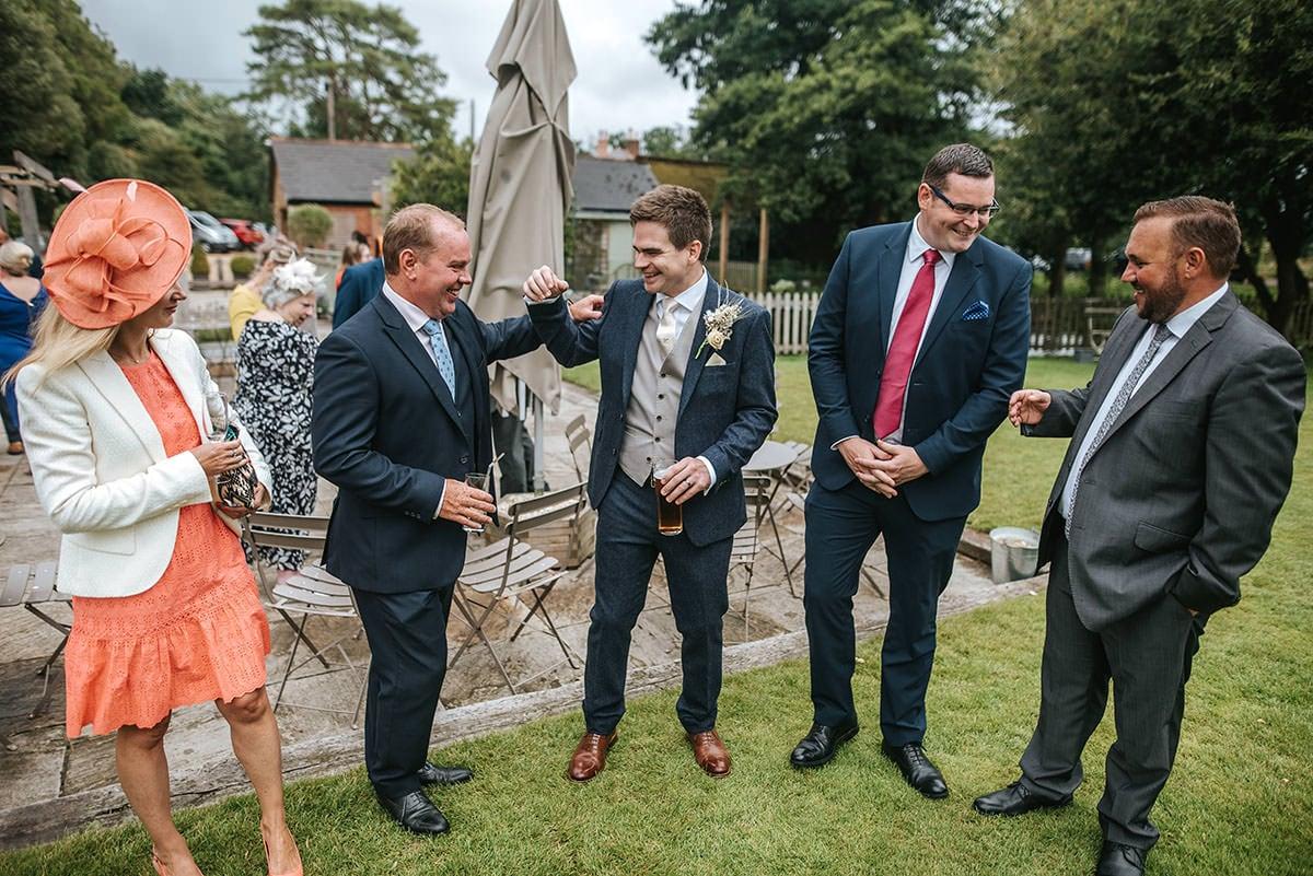sopley mill wedding drinks reception
