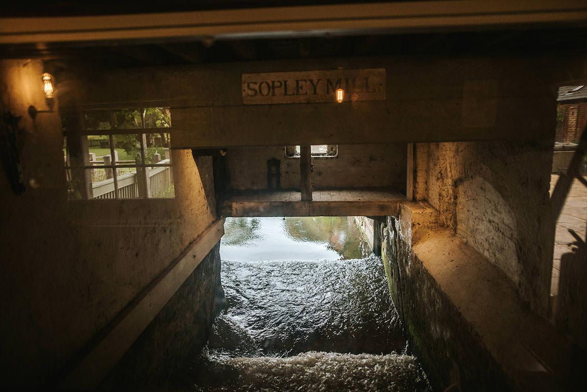 sopley mill wedding river