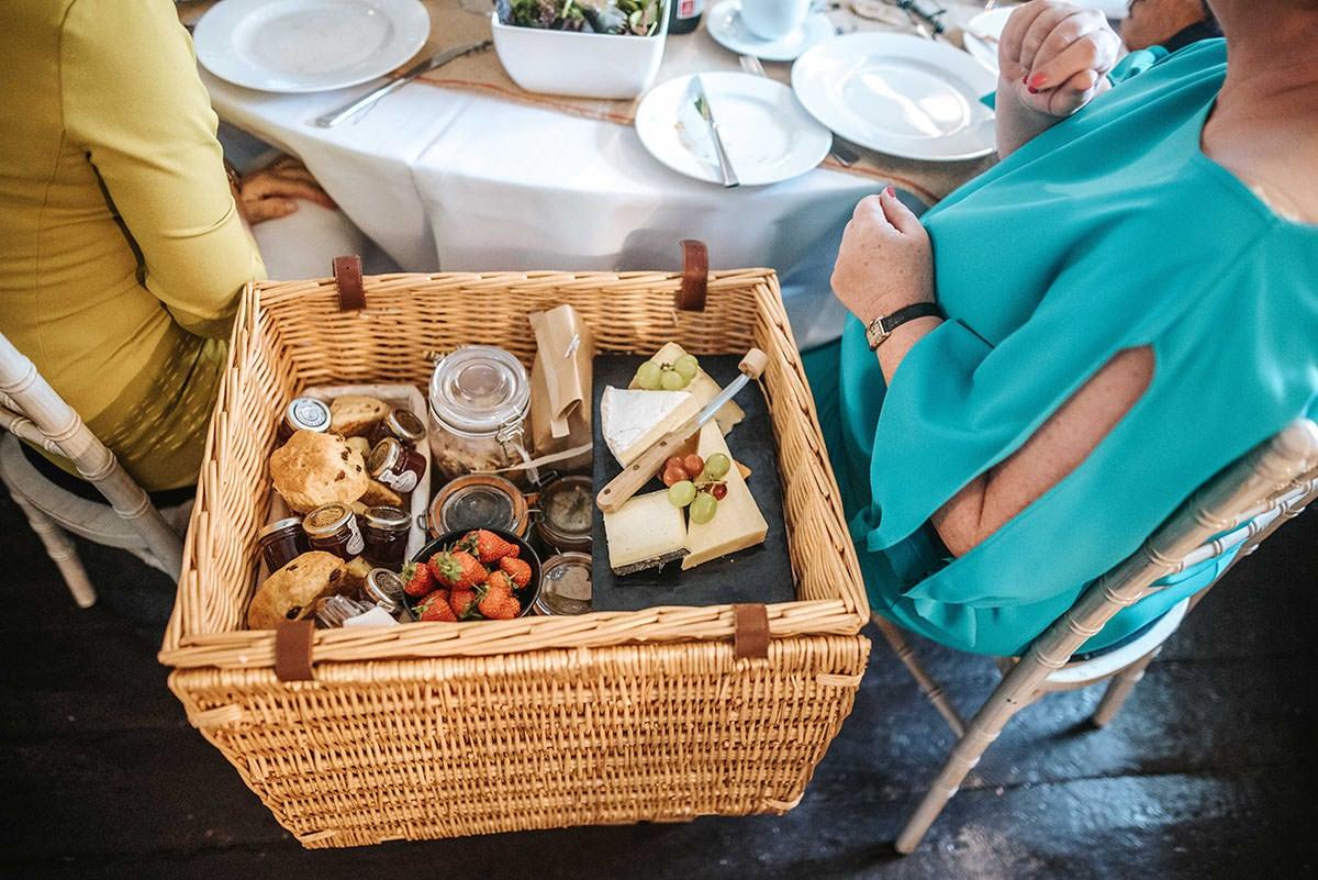 sopley mill wedding food