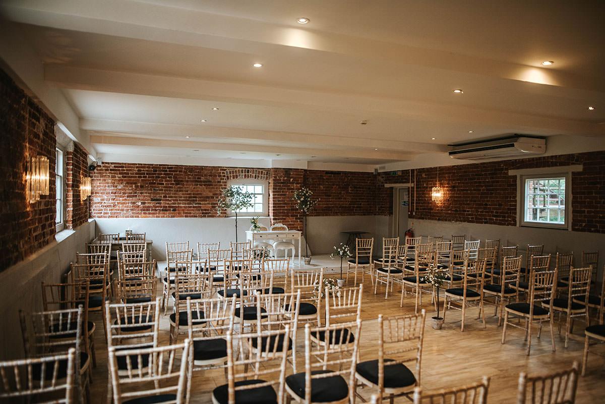sopley mill wedding ceremony room