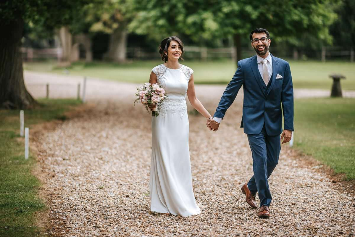 northbrook park indian wedding bride and groom