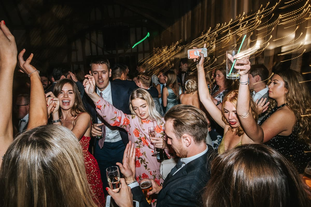colville hall wedding party