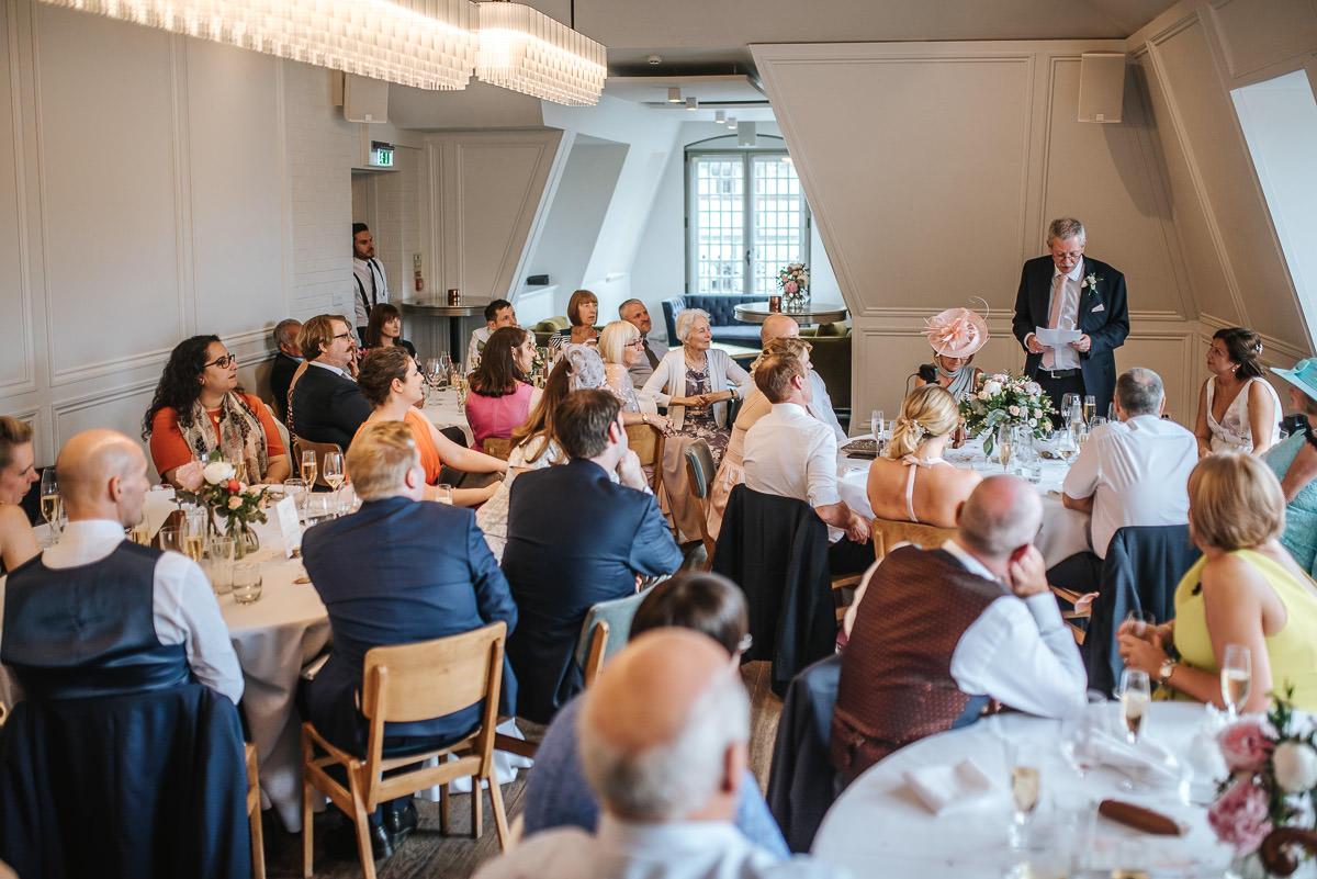 the swan at shakespeare's globe wedding breakfast