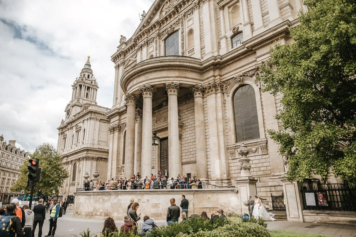 st pauls cathedral wedding ceremony