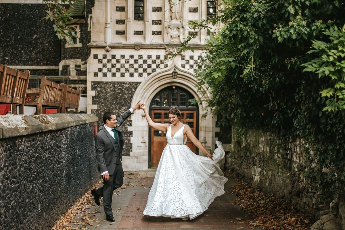 st barts brewery wedding couple shoot