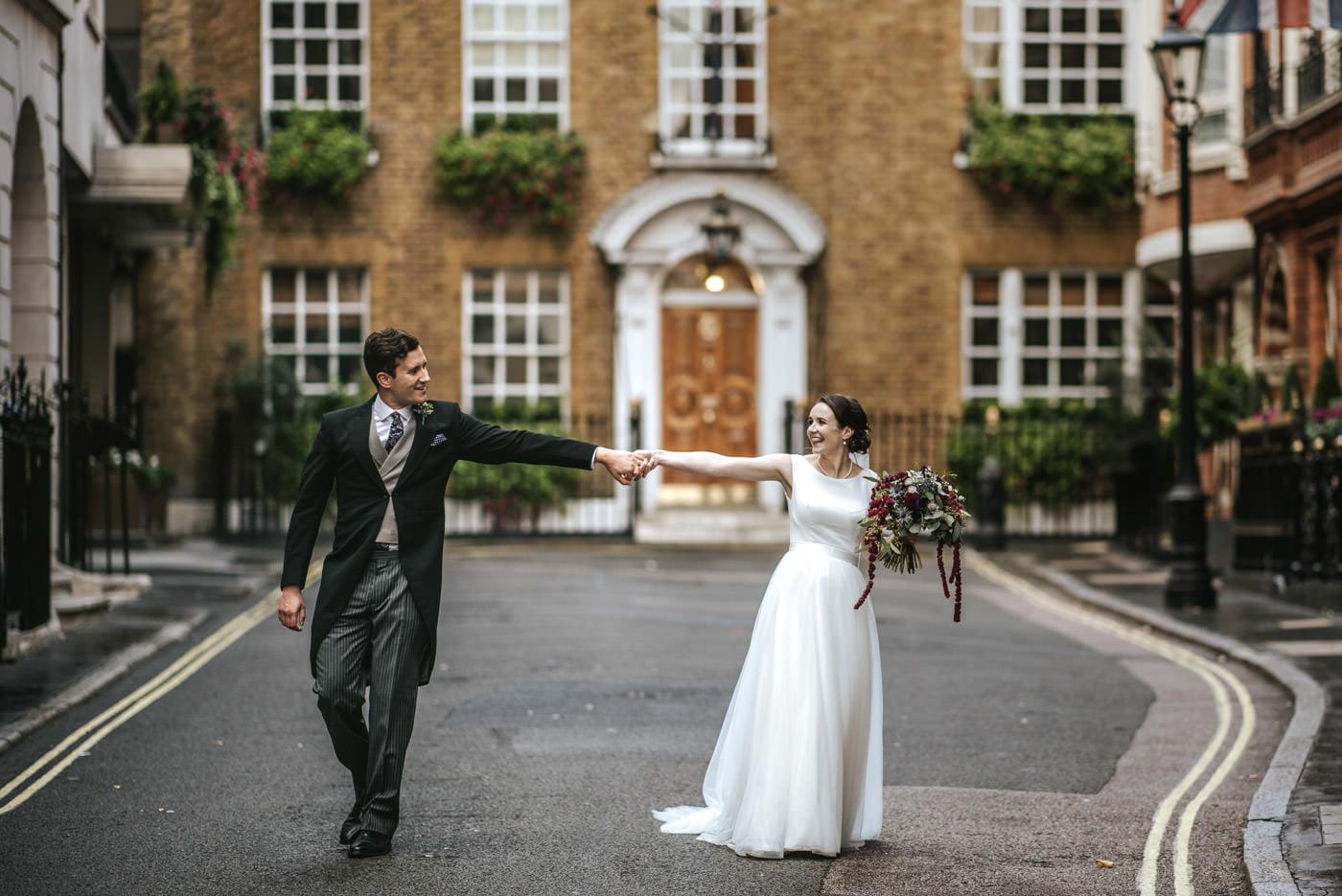 Guards' Chapel Wellington Barracks Wedding Photography 1